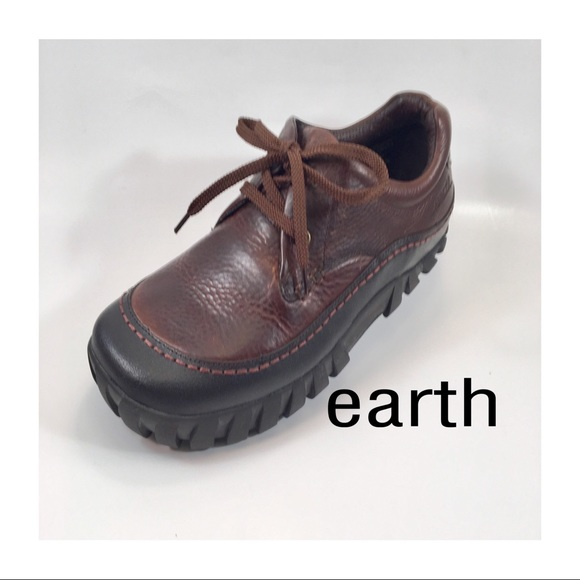 Earth Other - Earth Brown Leather Oxfords